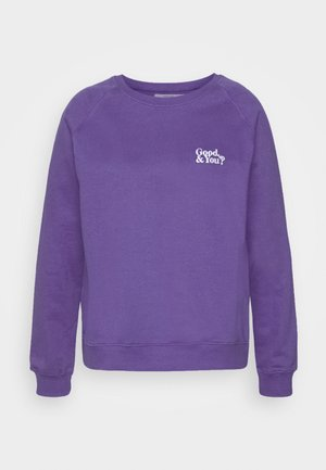 GOOD AND YOU - Sweatshirt - purple