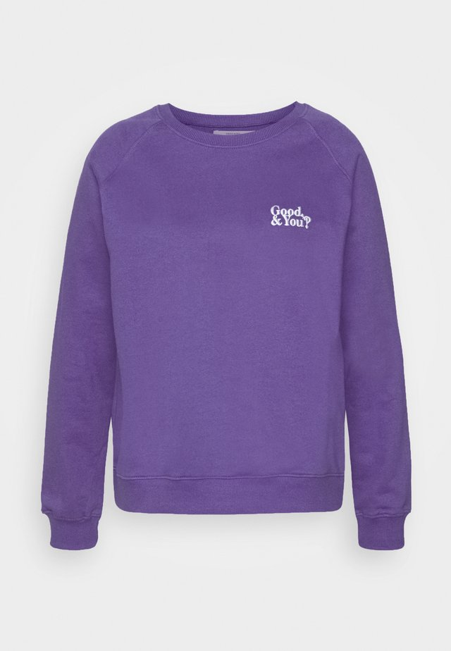 GOOD AND YOU - Sweater - purple