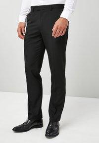 Next - TUXEDO - Pantaloni eleganti - black - 3