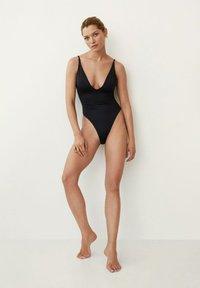Mango - Swimsuit - svart - 1