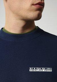 Napapijri - B-SURF CREW - Trui - medieval blue - 3
