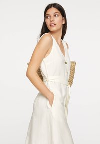 OYSHO - Korte jurk - white - 2
