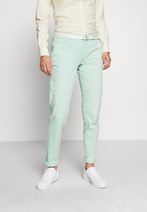 Chinos - blue green