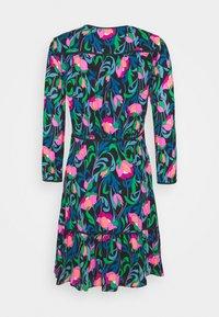 kate spade new york - FLORAL SWIRL DRESS - Day dress - black - 1