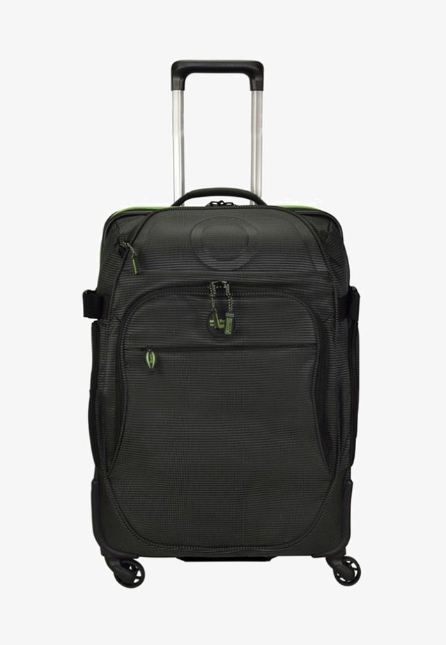 RELAX ROLLEN KABINENTROLLEY - Wheeled suitcase - black/green
