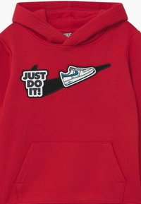 Nike Sportswear - HOOK LOOP TAPE  - Kapuzenpullover - university red/black - 2