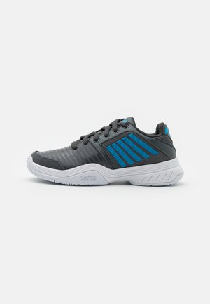 COURT EXPRESS OMNI UNISEX - Zapatillas de tenis para todas las superficies - dark shadow/white/swedish blue