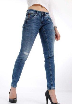 NIKITA  - Jeans Skinny Fit - vintage midblue
