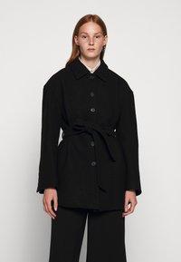 Filippa K - LIMA COAT - Short coat - black - 0