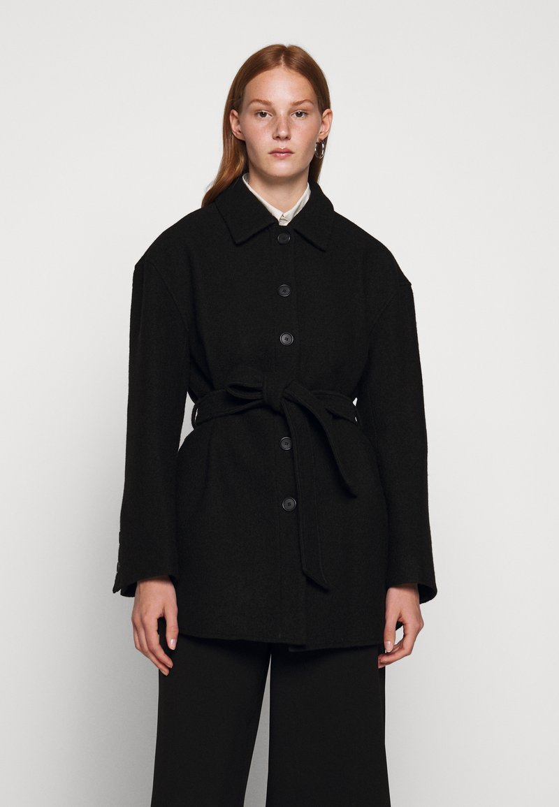 Filippa K - LIMA COAT - Short coat - black