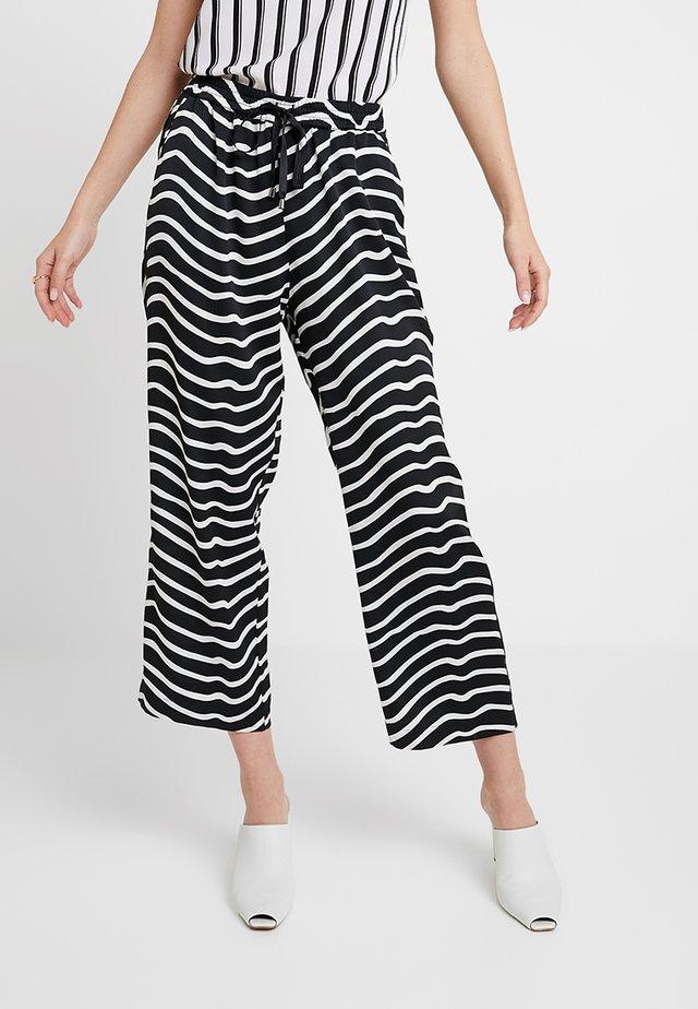 MAHAL ZEBRA - Trousers - black