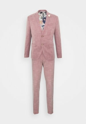 WEDDING COLLECTION - SLIM FIT SUIT - Completo - pink