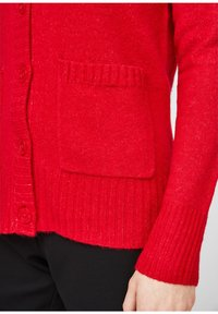 comma casual identity - Cardigan - scarlet red - 5