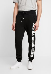 Alpha Industries - Trainingsbroek - black - 0