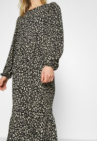 ONLY - ONLZILLE LAYERED DRESS - Day dress - black - 5
