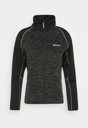 LINDALLA - Fleecejacke - black