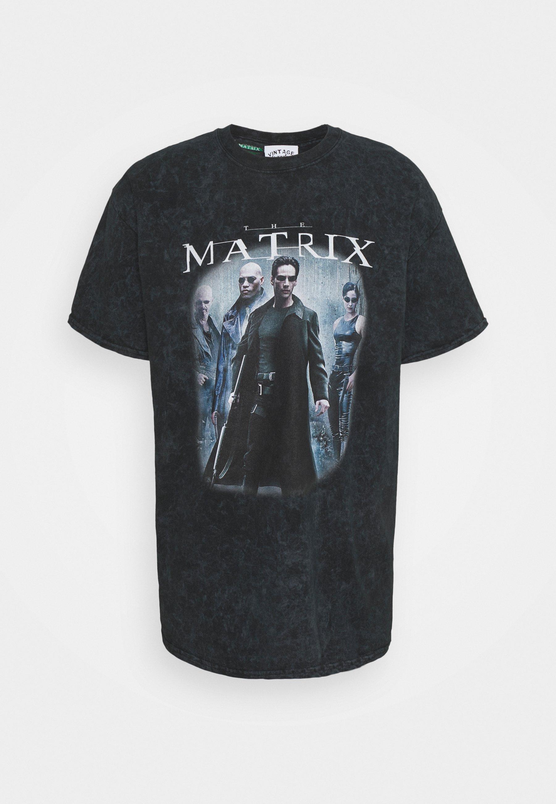 Men MATRIX COVER TEE - Print T-shirt