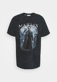 Vintage Supply - MATRIX COVER TEE - Print T-shirt - black - 0