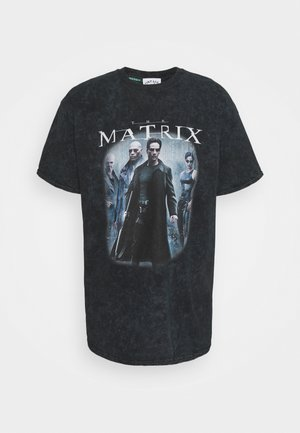 MATRIX COVER TEE - T-shirt con stampa - black