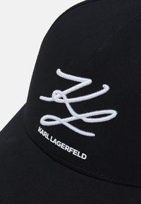 KARL LAGERFELD - UNISEX - Casquette - black - 4