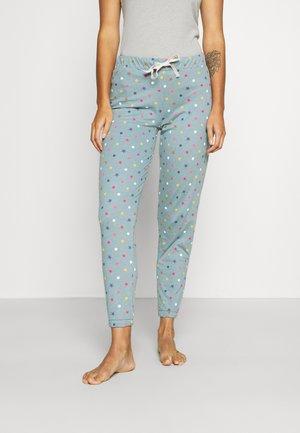 DEAL CUFF PANT - Pyjama bottoms - petrol mix