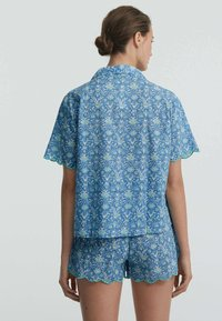OYSHO - Button-down blouse - blue - 1