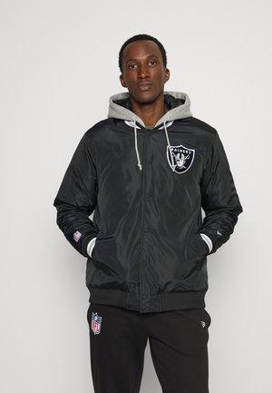 NFL LAS VEGAS RAIDERS JACKET - Club wear - black