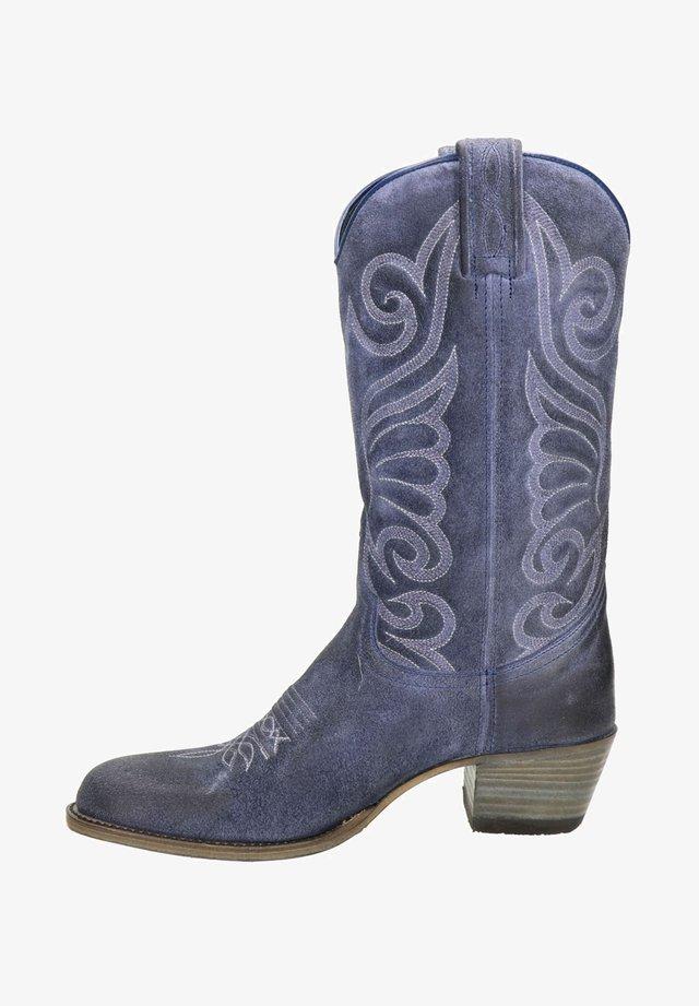 Cowboy-/Bikerlaarzen - blauw