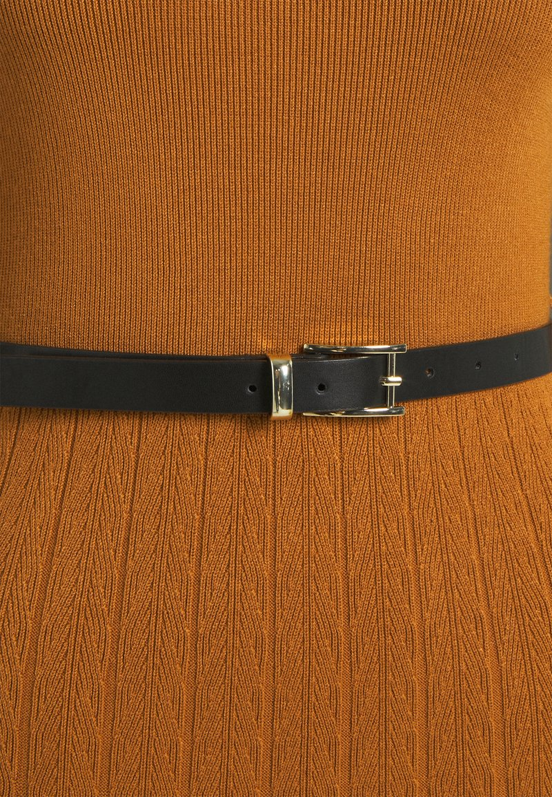 Esprit Collection Strickkleid - rust brown/ocker 7kAwzs