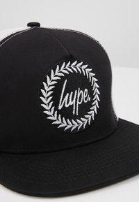 Hype - CAP - BLACK TRUCKER - Kšiltovka - black - 2