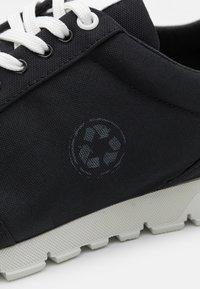 NAE Vegan Shoes - NILO VEGAN  PET - Sneakers laag - black - 5