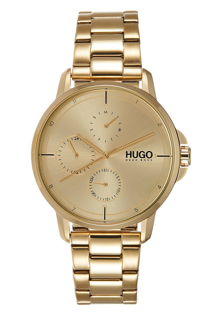 HUGO - FOCUS BUSINESS - Horloge - gold-coloured