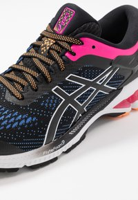 ASICS - GEL-KAYANO 26 - Stabilty running shoes - black/blue coast - 5