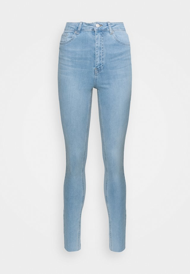 HIGH WAIST RAW  - Skinny-Farkut - light blue