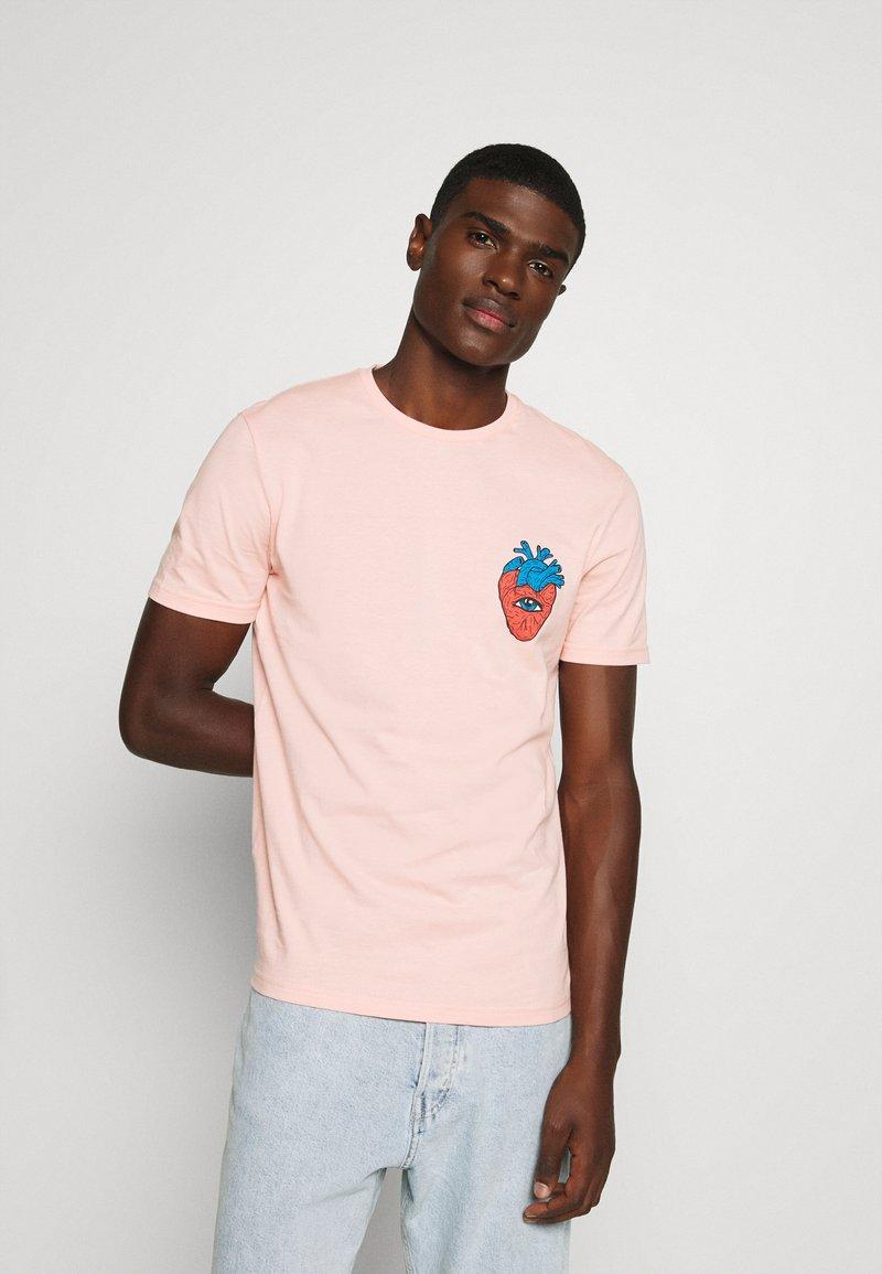 YOURTURN - UNISEX - Print T-shirt - pink