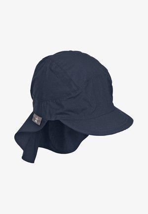 SCHIRMMÜTZE MIT NACKENSCHUTZ - Cap - dark blue
