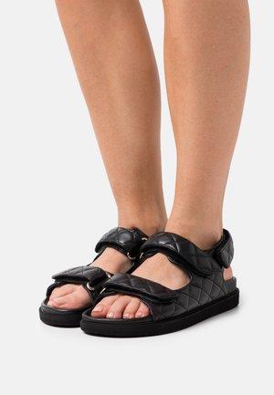 HOOK LOOP  - Sandals - black