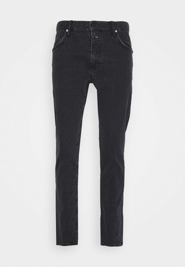 DROP CROPPED - Slim fit jeans - dark grey