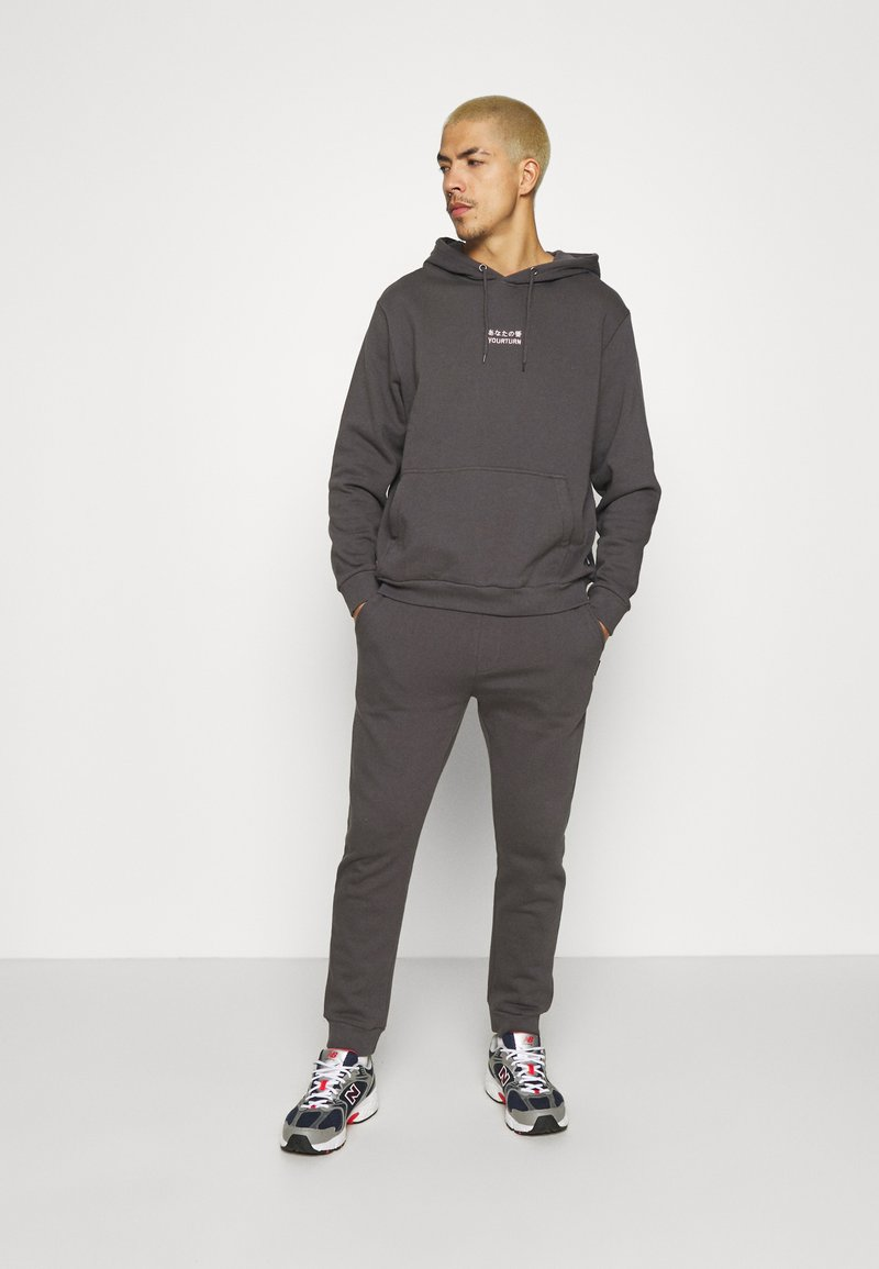 YOURTURN - UNISEX SET - Tracksuit - dark grey