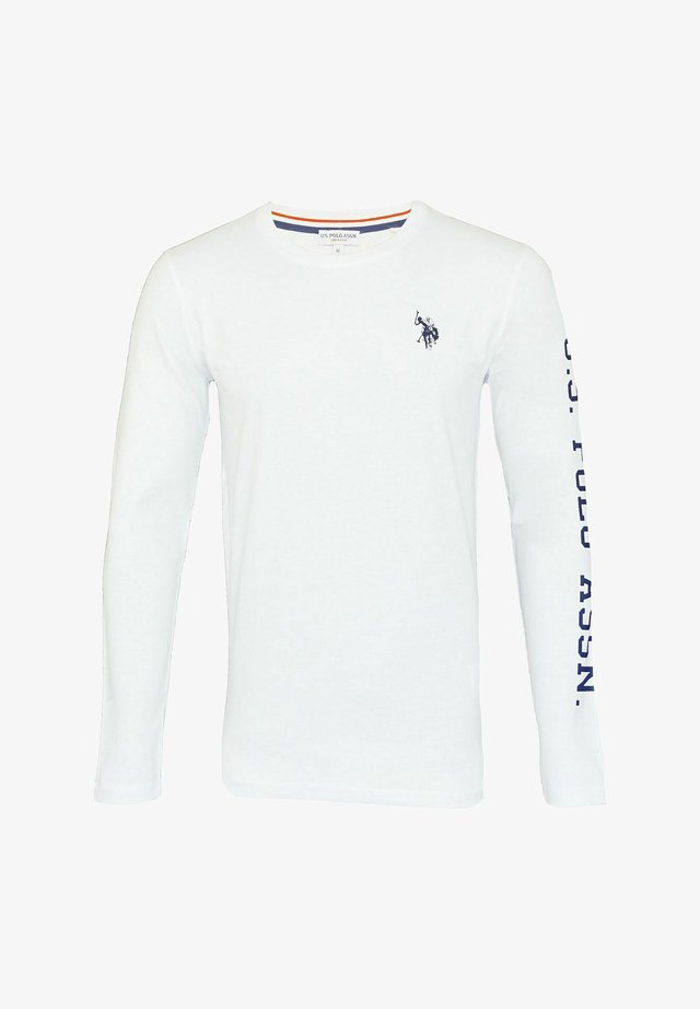 T-shirt à manches longues - weiss