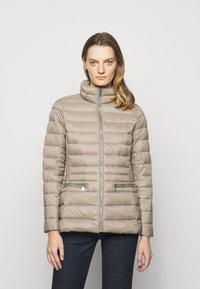 Lauren Ralph Lauren - SOFT COMBO MIXED QUILTS - Down jacket - taupe - 0