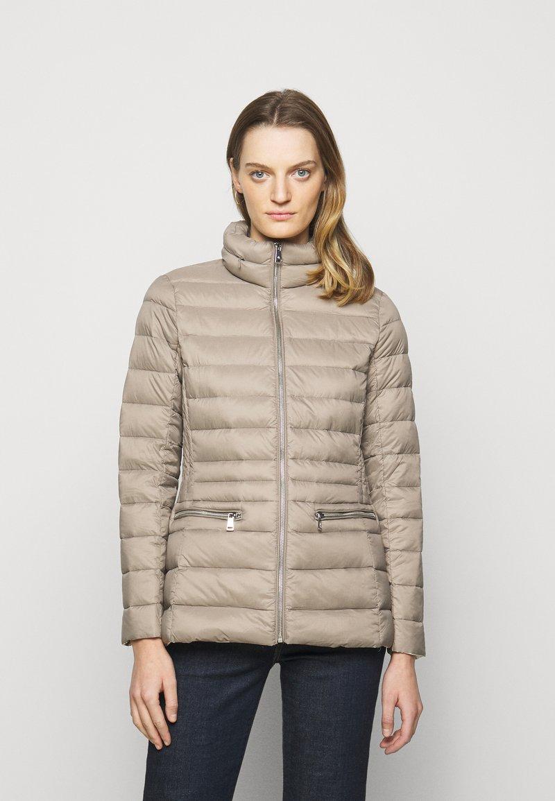 Lauren Ralph Lauren - SOFT COMBO MIXED QUILTS - Down jacket - taupe