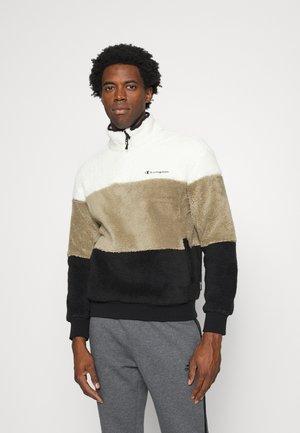 HALF ZIP - Fleece jumper - black