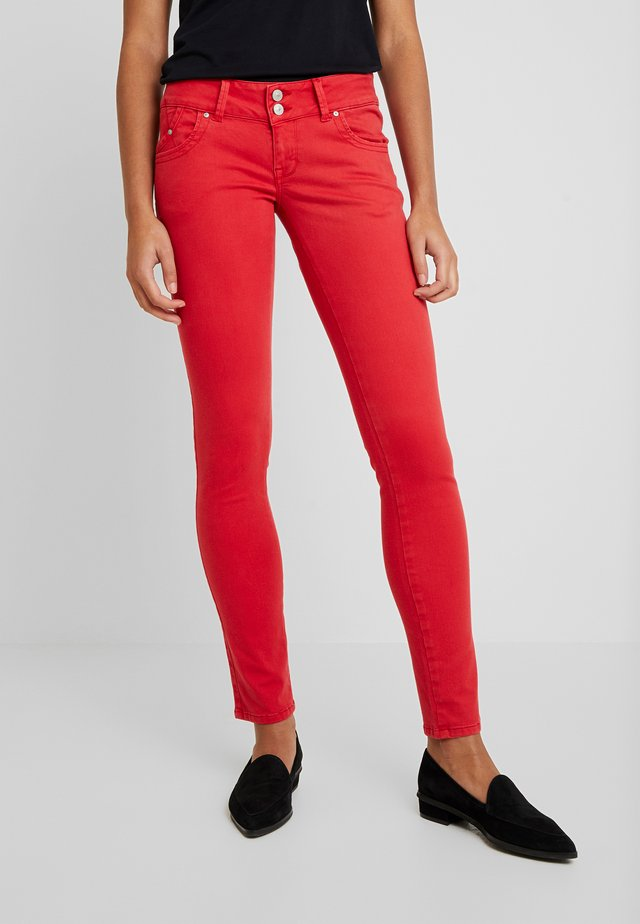 MOLLY - Jeansy Skinny Fit - barbados cherry