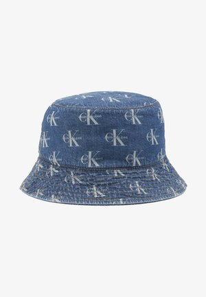 MONOGRAM BUCKET ALLOVER - Hut - denim