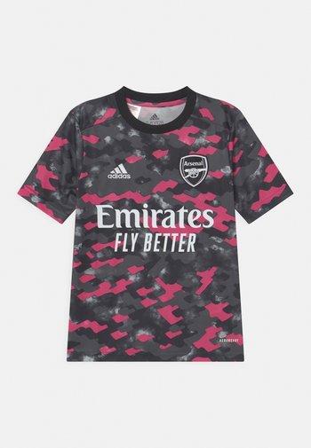 ARSENAL LONDON UNISEX - Club wear - pink/solid grey/black