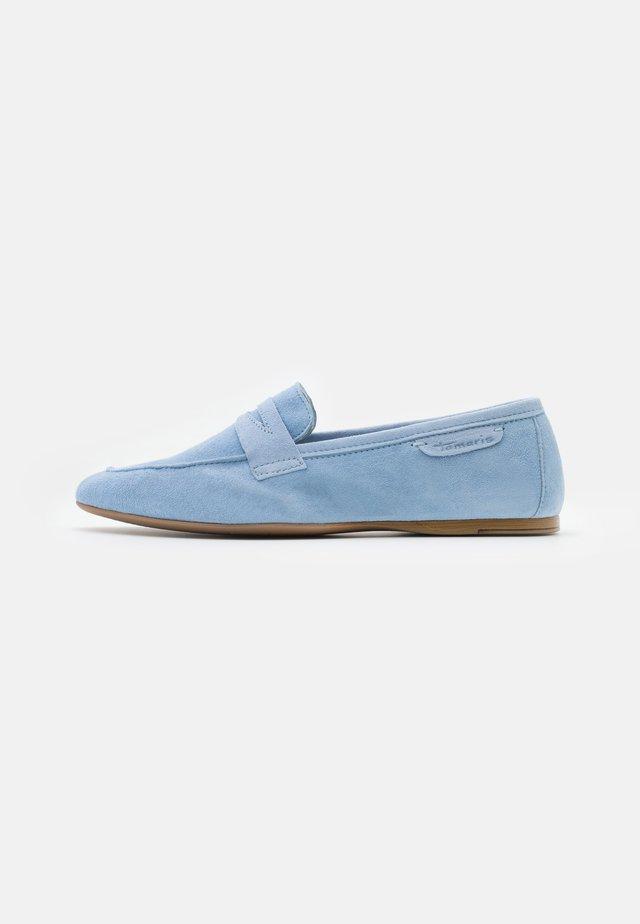 Mocassins - soft bleu
