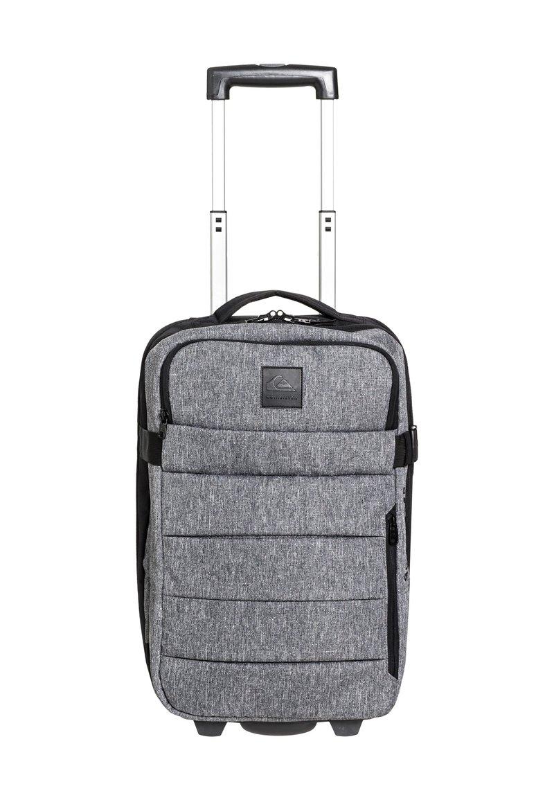 Quiksilver - QUIKSILVER™ NEW HORIZON 32L - LEICHTER HANDGEPÄCKSKOFFER MIT ROL - Wheeled suitcase - light grey heather