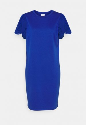 VITINNY FLOUNCE DETAIL DRESS - Jerseykleid - mazarine blue