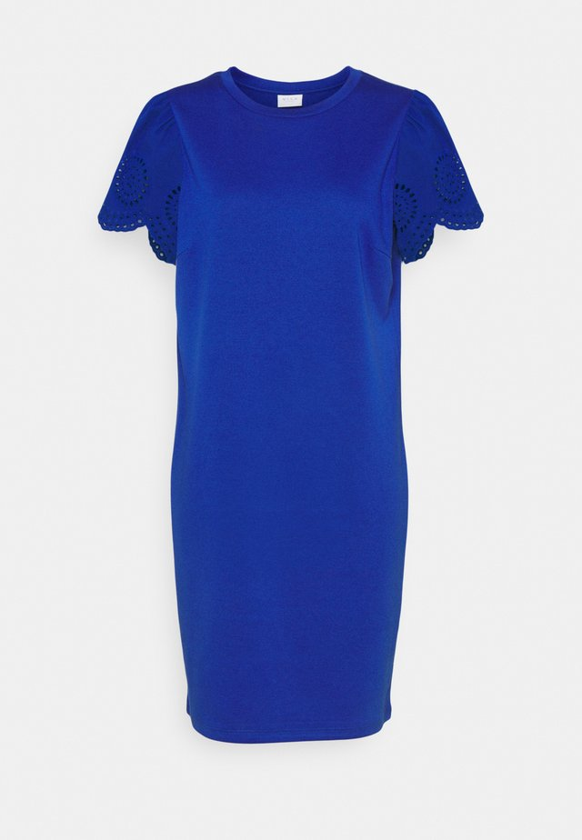 VITINNY FLOUNCE DETAIL DRESS - Jerseyjurk - mazarine blue